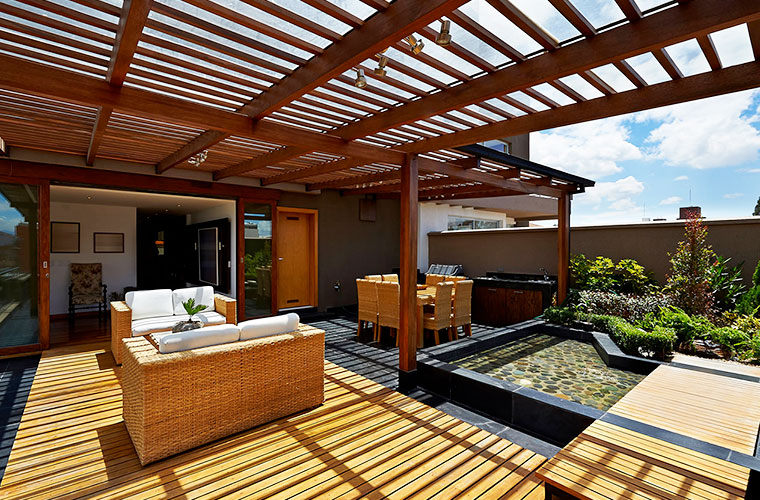 Certified tropical timber is Ecological and aesthetic