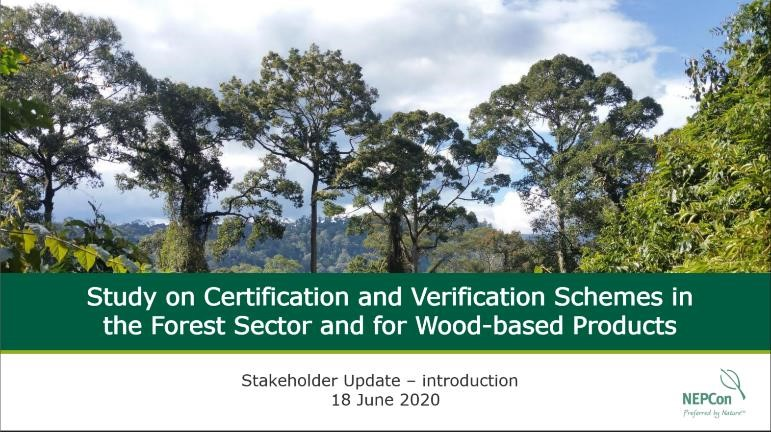 The ATIBT certification commission is involved in the study on forest certification systems requested by the European Union