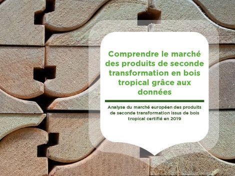 Publication in French of the IDH study « Understanding sustainable secondary tropical wood products through data »