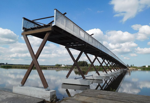 Azobé chosen for Europe's longest cycle bridge