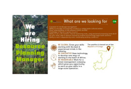 The CIB (Congolaise Industrielle des Bois) is hiring his manager resource planning in Republic of Congo